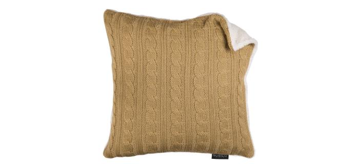 Coussin IRLANDE CAMEL