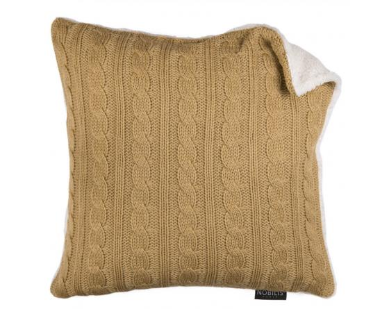 Coussin IRLANDE COU1201 camel