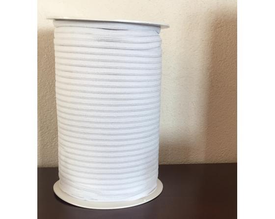 Elastique blanc largeur 5 mm